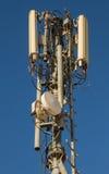 Teléfonos móviles de las antenas Fotografía de archivo libre de regalías
