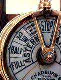 Telégrafo de la nave Fotografía de archivo libre de regalías