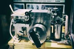 Telégrafo viejo de Morse Imagen de archivo libre de regalías