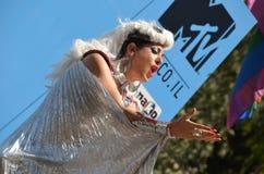 tel гордости парада aviv Стоковое Изображение