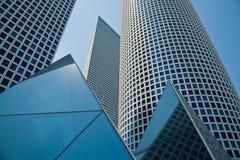 tel небоскребов azrieli aviv стоковые фото