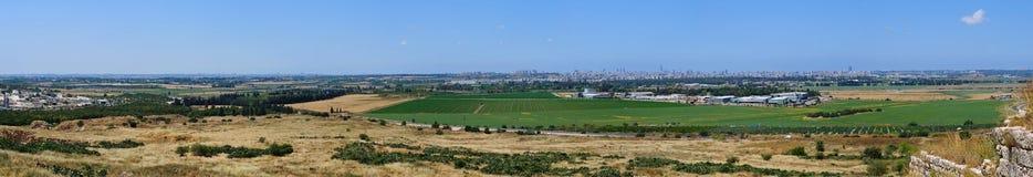 tel панорамы aviv стоковое фото rf