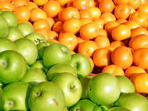 Tel Aviv-Äpfel und Tangerinen 2011 Stockfotografie