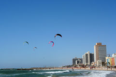Tel Aviv Stock Afbeelding