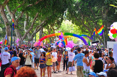 Tel Aviv 2010 Gay Parade Royalty Free Stock Photography