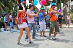 Tel Aviv 2010 Gay Parade stock images