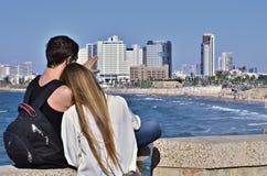 Tel Aviv Foto de Stock Royalty Free