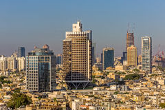 Tel Aviv aerial Royalty Free Stock Photography