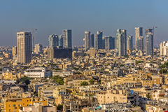 Tel Aviv aerial Royalty Free Stock Image