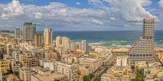 Tel Aviv aerial view Stock Photography