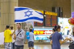 Tel Aviv - airoport - 21 de julio - Israel, 2014 Imágenes de archivo libres de regalías