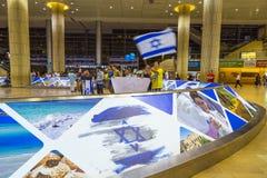 Tel Aviv - airoport - 21 juillet - l'Israël, 2014 Photos libres de droits