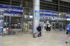 Tel Aviv - airoport - 21 juillet - l'Israël, 2014 Photo stock