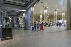 Tel Aviv - airoport - 21 Juli - Israel, 2014 Arkivfoton
