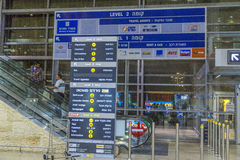 Tel-Aviv -airoport - 21 July - Israel, 2014 Royalty Free Stock Image