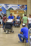 Tel-Aviv -airoport - 21 July - Israel, 2014 Stock Photography