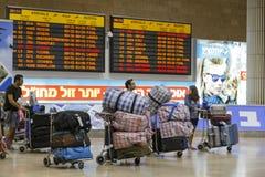 Tel-Aviv -airoport - 21 July - Israel, 2014 Royalty Free Stock Image