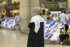 Tel-Aviv -airoport - 21 July - Israel, 2014 Royalty Free Stock Photo