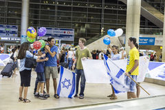 Tel-Aviv -airoport - 21 July - Israel, 2014 Stock Photo