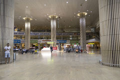 Tel Aviv - airoport - 21 Lipiec, Izrael -, 2014 Zdjęcia Stock