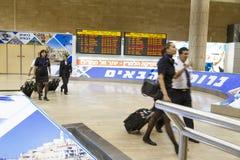 Tel Aviv - airoport - 21 Lipiec, Izrael -, 2014 Zdjęcia Royalty Free