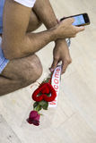 Tel Aviv - airoport - 21 luglio - Israele, 2014 Fotografia Stock
