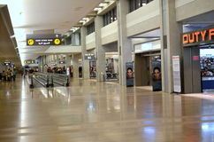 Tel Aviv Airport Duty Free Royalty Free Stock Photos