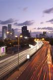 Tel Aviv al tramonto Fotografia Stock