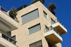 Tel Aviv architecture. Royalty Free Stock Photo