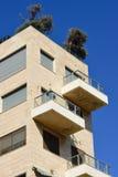Tel Aviv arkitektur Arkivbilder