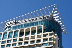 Tel Aviv arkitektur Arkivfoton