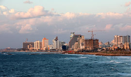 Tel aviv beach Royalty Free Stock Image