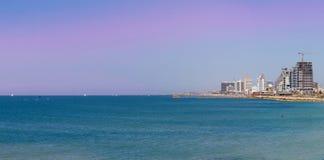 Tel-Aviv beach Stock Image