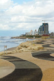 Tel-Aviv beach Royalty Free Stock Images