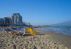 Tel aviv beach Royalty Free Stock Photos