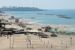 Tel Aviv Beach, Israel Stock Images