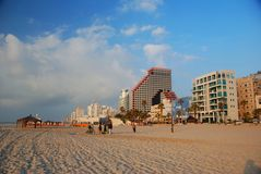 Tel Aviv Beach, Israel Royalty Free Stock Image