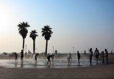 Tel Aviv Beach, Israel Royalty Free Stock Photo