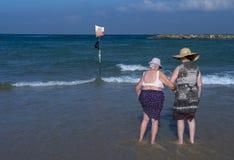Tel aviv beach Royalty Free Stock Photography