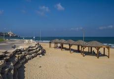 Tel aviv beach Royalty Free Stock Image