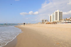 Tel Aviv beach. Stock Photography