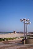 Tel Aviv beatch Fotografia Royalty Free