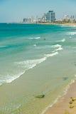 Tel Aviv bij dag stock afbeeldingen