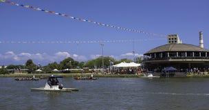 Tel Aviv Boat Race Stock Photography