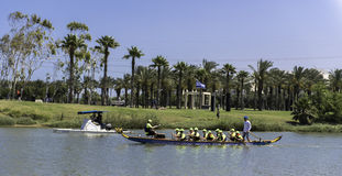 Tel Aviv boat race Royalty Free Stock Images