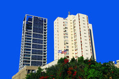 Tel Aviv. Buildings in the Tel Aviv, Israel royalty free stock photo