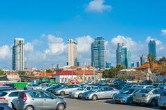 Tel Aviv Business District Stock Photography