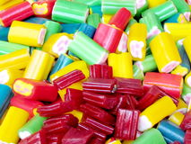 Tel Aviv candy is very bright colors 2012 Stock Image
