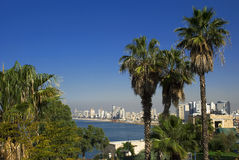 Tel Aviv city Royalty Free Stock Photography