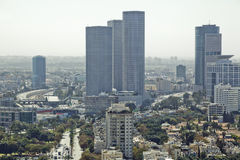 Tel Aviv Cityscape Royalty Free Stock Photo